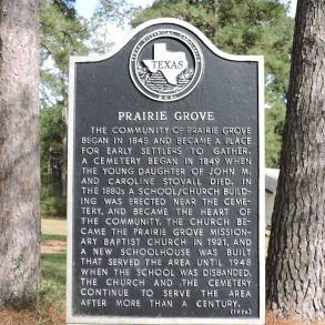 Prairie Grove Church and School #52